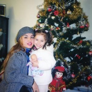 47Sibora me mamin diten e krishtlindjeve. 25 Dhjetor 2000